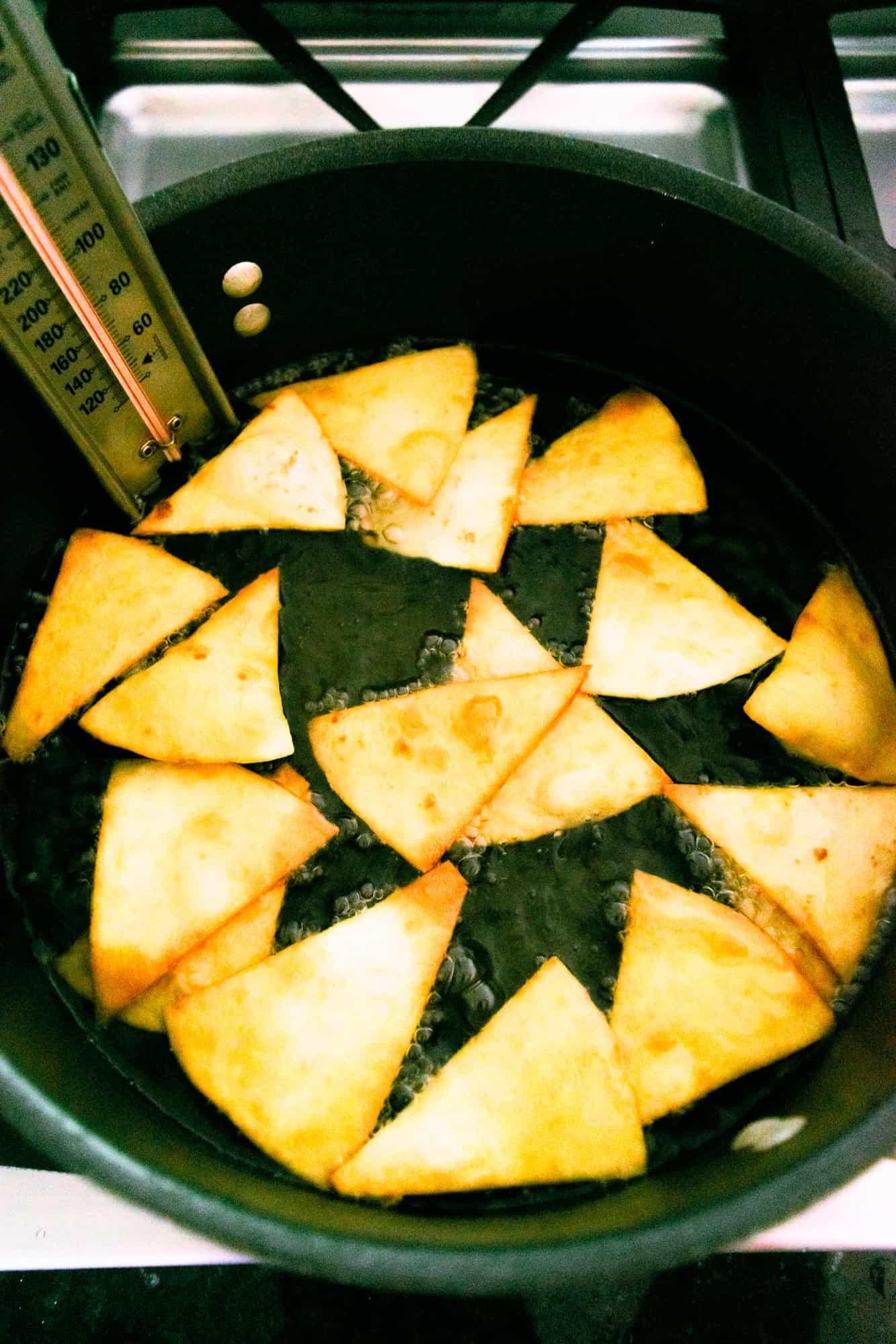 fried tortilla