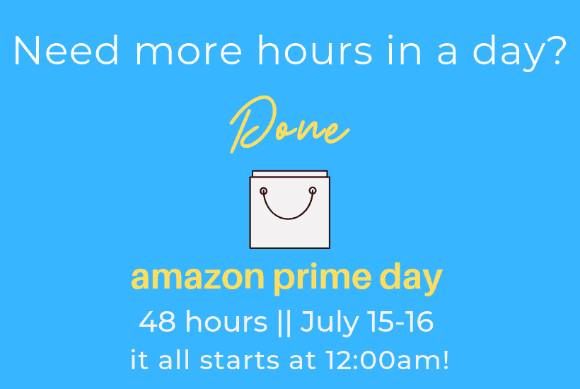 sharing info about Amazon Prime Day