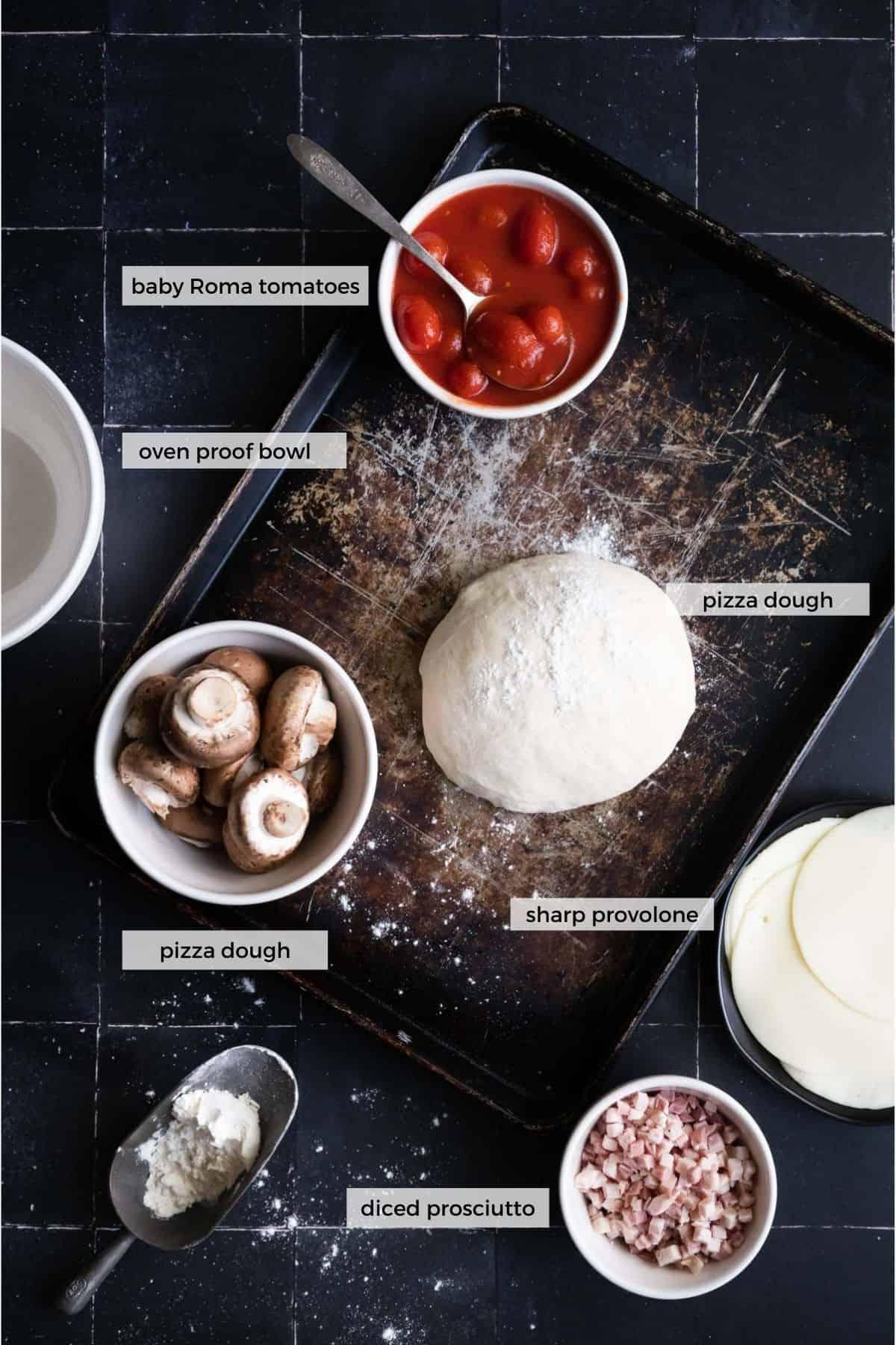 ingredients needed for pizza pot pie